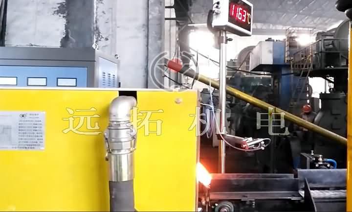 钢棒铸造感受加热配置