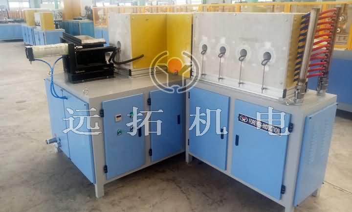 圓鋼自動續料局部加熱設備