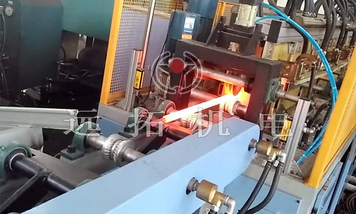 Torsion bar induction heating equipment