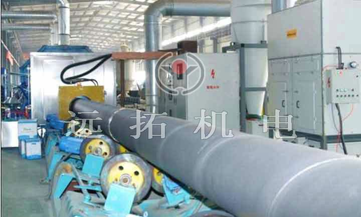 Steel pipe anticorrosion equipment