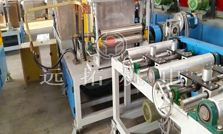 Plate quenching equipment