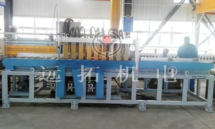 Hot rolled plate production line