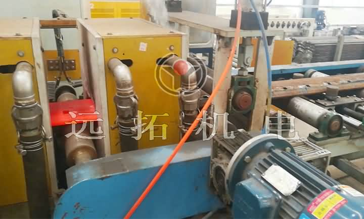 Heating furnace for hot rolled slab