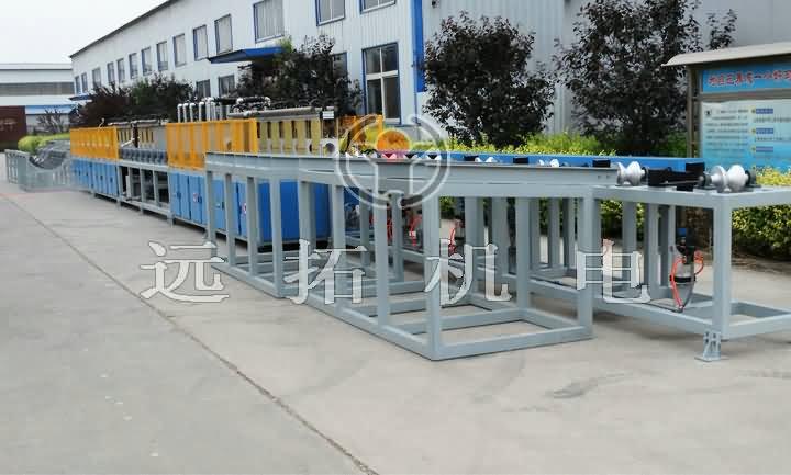 钢管调质热处理生产