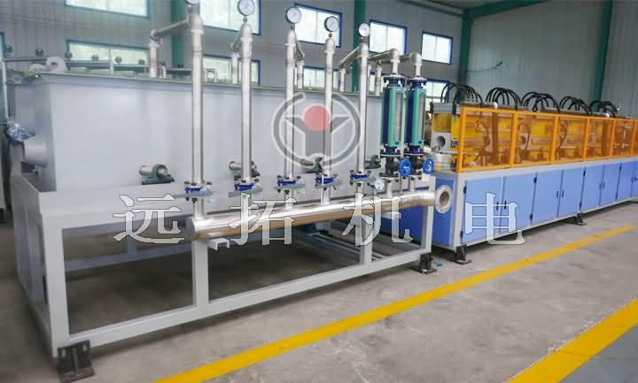 Medium frequency quenching equipment for heat treatment