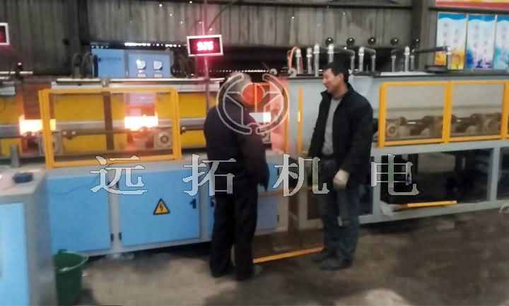 Steel bar surface quenching equipment