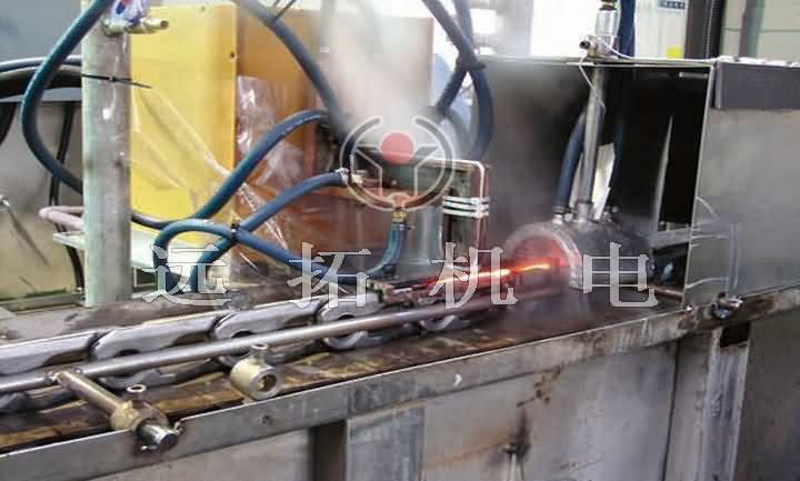錨鏈、鏈軌節淬火爐