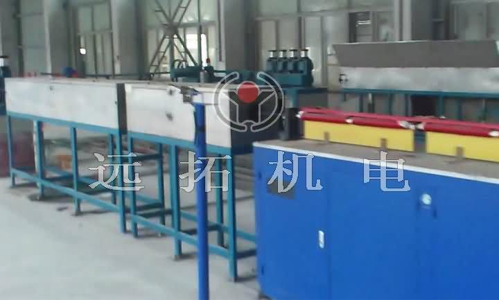 钢绞线调质生产线