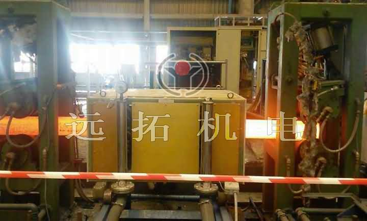 Induction heating furnace of square steel