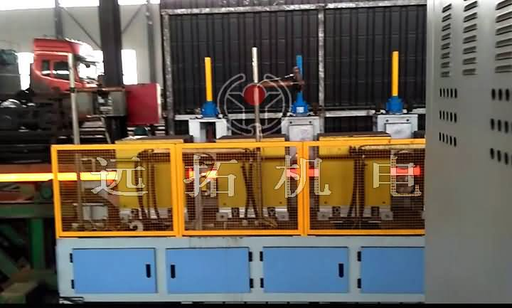 Heating furnace for hot rolled seamless tube