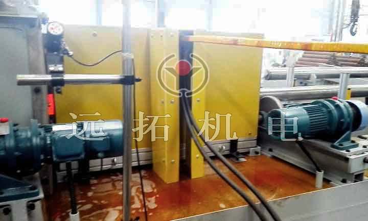 Quenching furnace for thick wall steel pipe