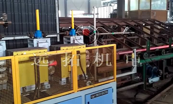 Medium frequency annealing equipment for steel pipe