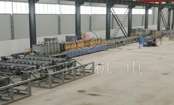 Round steel quenching and tempering equipment