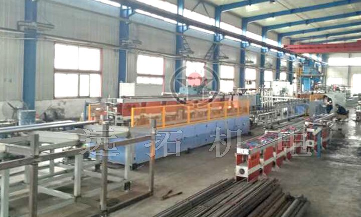 Continuous quenching and tempering furnace
