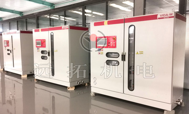 Medium frequency heating power supply