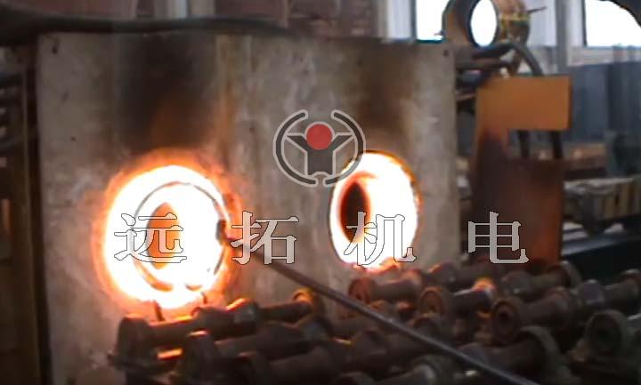 钢管局部加热炉